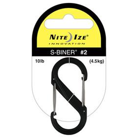 Nite Ize S-Biner Plastic Carabiner #2 black